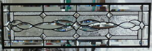Stained Glass Transom Window Hanging 32 X 10
