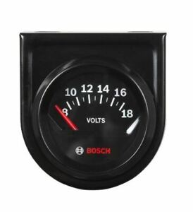 Sunpro Gauges Spx Shop Tools Sp0f000051 Style Line Tm Gauge Voltmeter