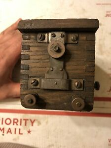 Wood Case Buzz Coil Hit Miss Engine Hot