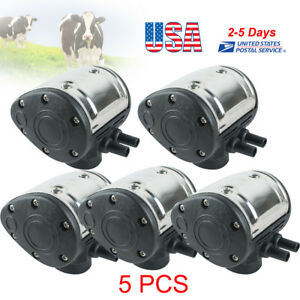 5pcs l80 Pneumatic Pulsator For Cow Milker Milking Machine Farmer Cattle Us Ship