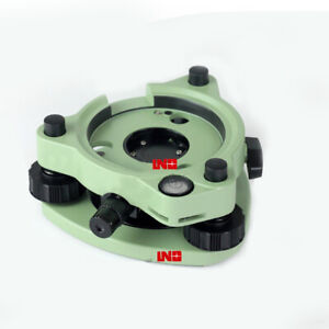 New Green Tribrach With Optical Plummet For Leica Total Station