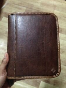 Franklin Covey Compact Simulated Leather Binder