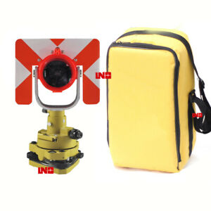 New Single Prism Tribrach Set Total Station Surveying Reflector System