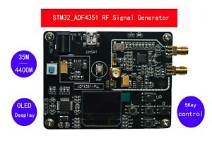 Us Adf4351 Rf Signal Source With Stm32 Single chip Phase locked Loop