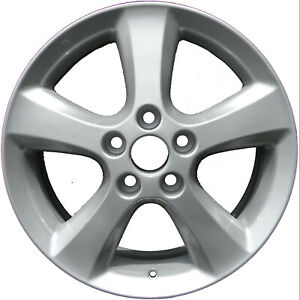 69452 New Compatible 17in Aluminum Wheel Fits 2004 2009 Toyota Camry Painted