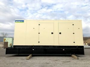 Factory New 500 Kw Enclosed Diesel Generator Base Tank 480v Tier 2 John Deere