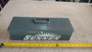 Vintage Metal Carrying Case only Box For Sunnen An 111 Standard Cylinder Hone