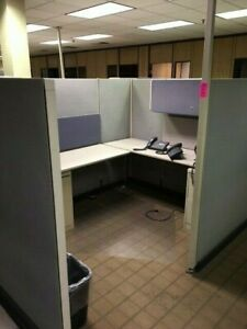 Herman Miller Cubicle And File Cabinets