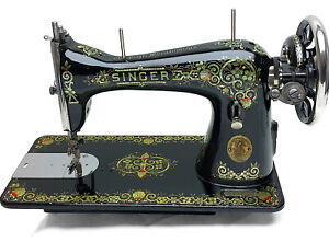 Singer 15 Tiffany Gingerbread 15 30 Vintage Sewing Machine Heavy Duty By 3fters