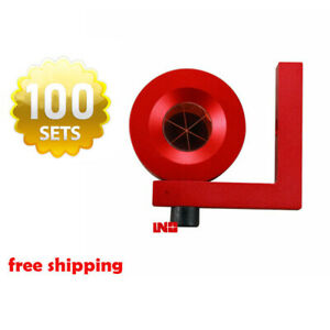 100 Gmp104 Leica Style 90 Degree Monitoring Prism 1 Inch L Bar Reflector