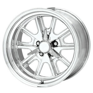 1 New 17x8 American Racing Shelby Cobra Polished Wheel 5x114 3 17 8 5 114 3