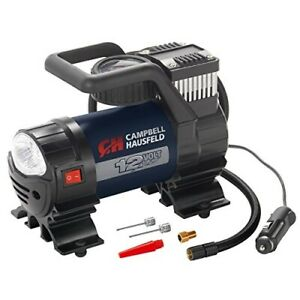 Mighty Portable Inflator 12v Air Compressor Pump W Safety Light