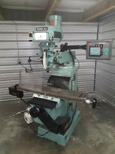 Southwestern Industries Proto Trak K3 Cnc Mill With Edge Controller And Tooling