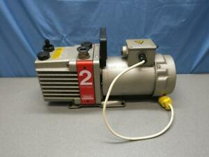Edwards E2m2 Dual Stage Rotary Vane High Vacuum Pump 220v