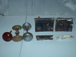 Mixed Lot Of Vintage Door Knobs And Latches