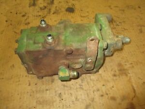 John Deere 3010 4010 Used Working Hydraulic Valve Assembly Antique Tractor