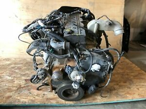 Dodge Ram 2500 5 9l Cummins Diesel 4x4 Manual Oem 5 9 Liter Block Motor Engine