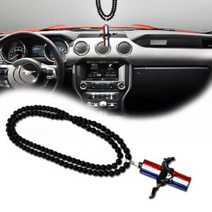 Jdm For Ford Mustang Car Horse Pony Hanging Pendant Auto Decoration Accessories