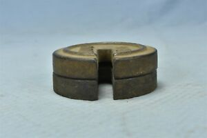Antique Set Of 2 Stackable Cast Iron Nest Scale Weights Mercantile Trades 06471