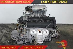 Honda Crv Crx Civic Acura Integra 2 0l Dohc Engine Jdm B20b High Compression B20