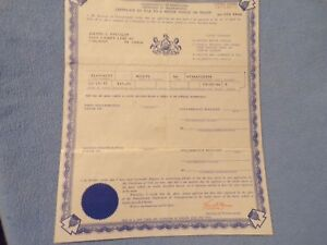 1964 Willys Station Wagon Historical Paperwork Document Hot Rat Rod Rare Barn