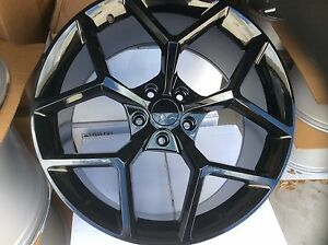 Camaro Z28 5th Gen Gloss Black 20 20x10 20x11 Wheels Rims For 2010 19