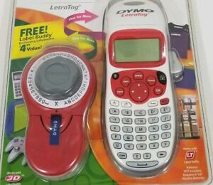 Dymo Letratag Label Maker With Buddy Cib Sealed