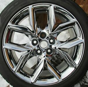 2014 2019 Chevy Impala 19 Oem Chrome 2 Wheels