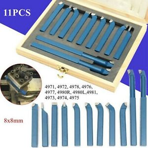 8mm Metal Lathe Tools knife Set Bits For Lathe Cutting Tool