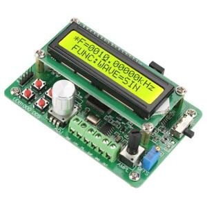 Function Signal Generator Source Frequency Counter Dds Module Wave Usb To Ttl Gf