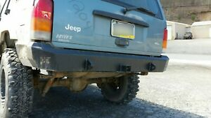 Jeep Cherokee Xj Only Rear Bumper Plain Hardcore Offroad