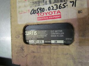 Toyota Curtis Pmc 00590 02365 71 D c Motor Controller 24vdc
