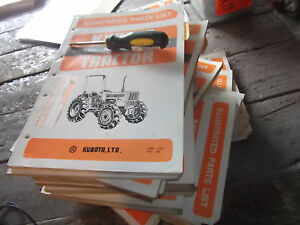 Kubota Illustrated Parts List For Tractor Model M7030su dt Location Ah