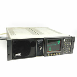 Tektronix 1740a Waveform Vector Monitor W anchor 1400 Broadcast Monitor tested