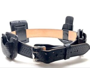 Galls Leather Police Security Duty Belt cmp010344