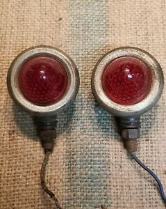 Vintage Antique Stop Tail Turn Signal Beehive Lights