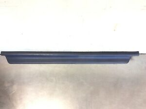 90 93 Accord 2dr Left Side Step Garnish Floor Lower Molding Carpet Trim Blue
