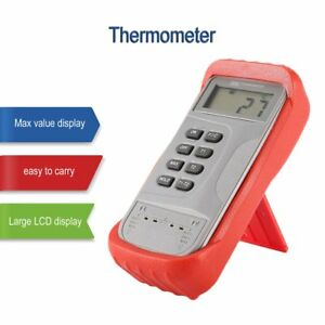 Jtw 306 Digital Dual Thermocouple Thermometer Temperature Meter K type Tester Ws