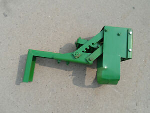 Good Condition John Deere Tractor Mower Implement Seat Bracket With Spring Part