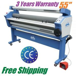 1400mm Full auto Wide Format Cold Laminator Large Cold Laminating Machine