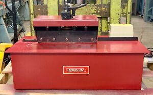 New 24 Ga Morlin Lockformer Pittsburgh Machine With Power Flanging Attachment