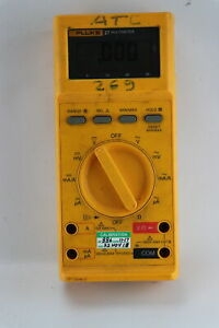 Fluke 27 Hand Held Multimeter Without Probes