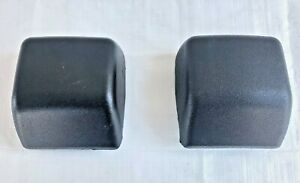 97 06 Jeep Wrangler Tj Front Bumper Pads Guard Padding Stoppers Pair Set