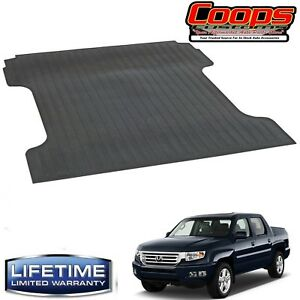 New Heavy Duty Black Bed Mat 2006 2015 Honda Ridgeline 5 Bed Lifetime Warranty