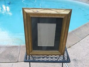 Vintage Gold Tone Gilt Wood Ornate Picture Frame 8 X 10 Or 4 1 2 X 6 1 2