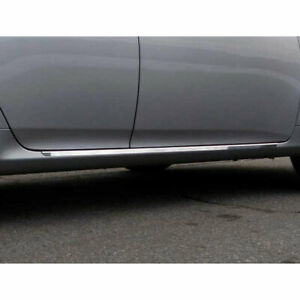 2p Luxury Fx Chrome 1 1 4 Lower Rocker Molding Trim Fits 2009 13 Toyota Corolla