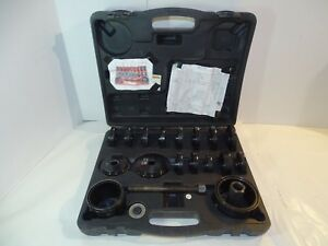 Front Wheel Drive Bearing Remover Installer Adapter Puller Pulley Kit 955 8625