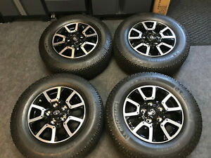 2019 Toyota Tundra Trd Off road Oem Factory 18 Wheels Michelin tires tpms