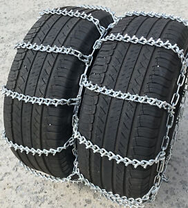 Snow Chains 7 00 15 7 00 15tr Dual Tire Chains Set Of 2