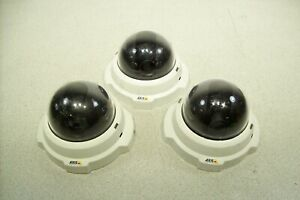 Lot Of 3 Axis 216fd Poe Ip Security Dome Camera Tested Working Qty Available